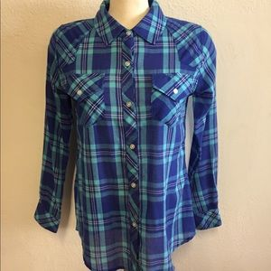 Rails plaid shirt, XS
